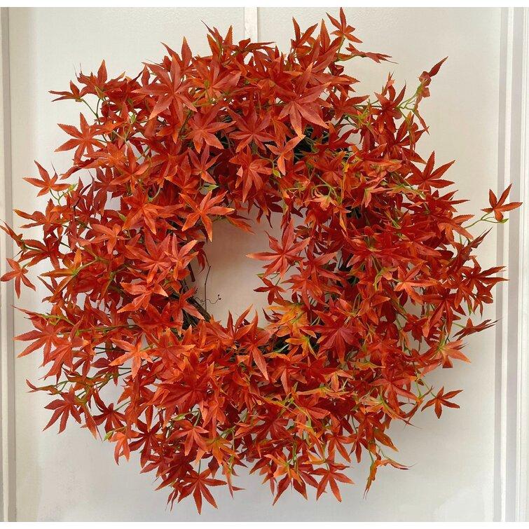 30 Inches Wreath #Fall #Entryway #Foyer #FallEntryway #FallDecor #HomeDecor #AutumnDecor