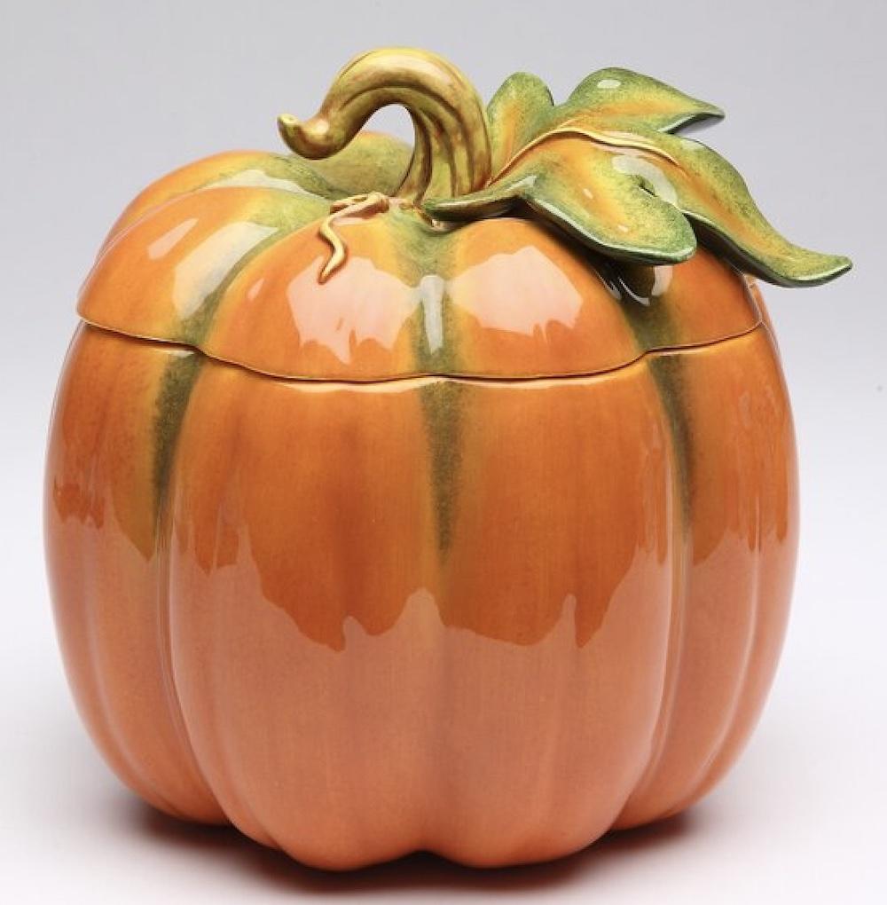 Brevard Large Pumpkin Jar #Fall #HomeDecor #Harvest #AutumnDecor #Pumpkins