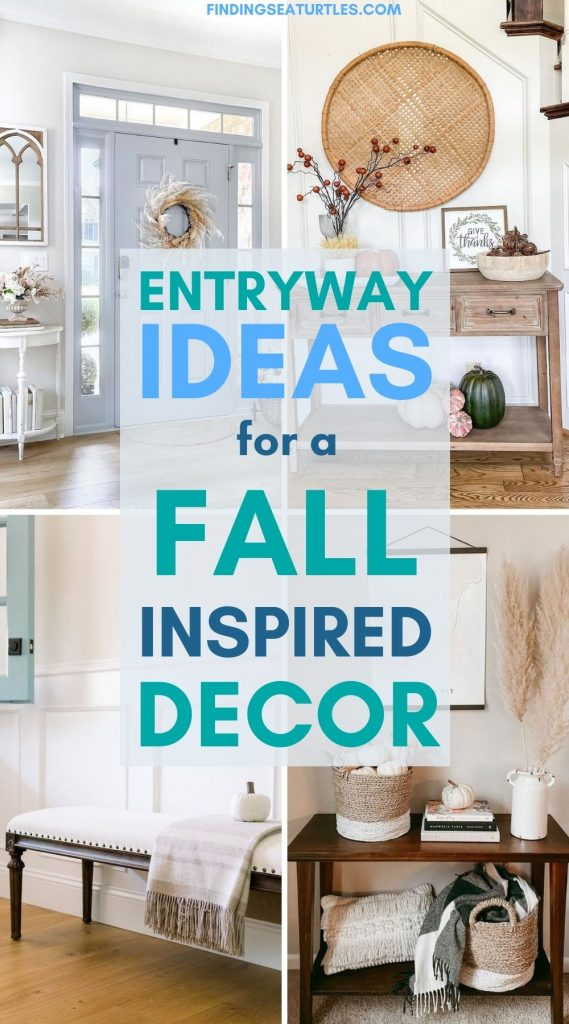 Entryway Ideas for a Fall Inspired Decor #Fall #Entryway #Foyer #FallEntryway #FallDecor #HomeDecor #AutumnDecor