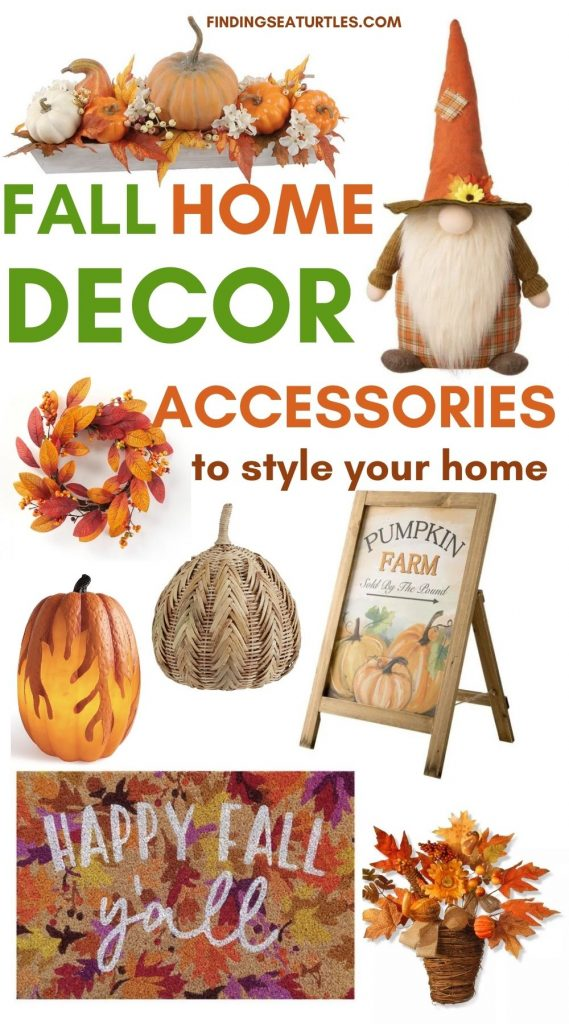 FALL HOME Decor Accessories to style your home #Fall #HomeDecor #Harvest #AutumnDecor #Pumpkins