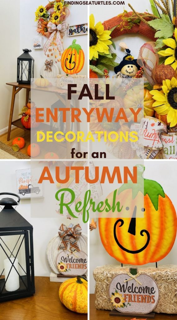 Fall Entryway Decorations for an Autumn Refresh #Fall #Entryway #FallEntryway #FallDecor #HomeDecor #AutumnDecor