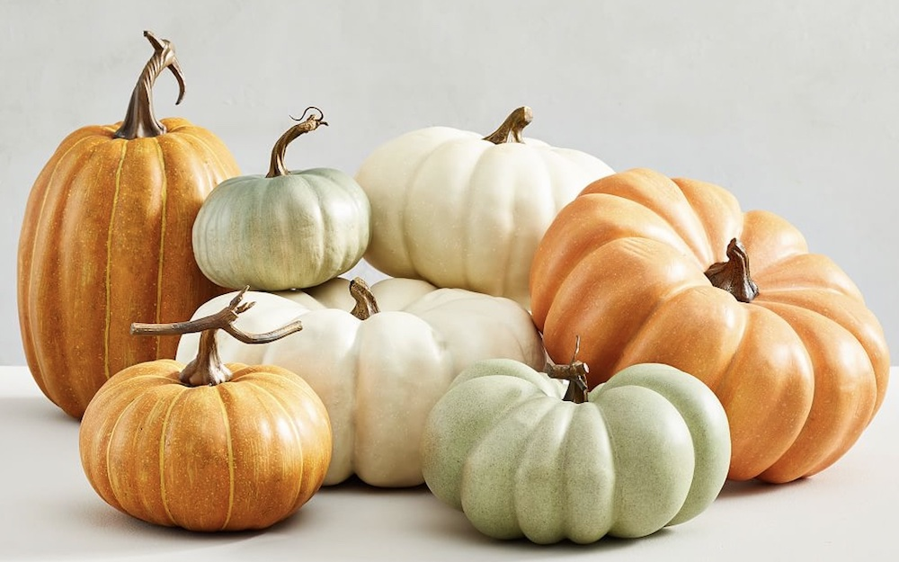 Faux Pumpkins 4 #Fall #Tablescapes #FallDecor #HomeDecor #AutumnDecor