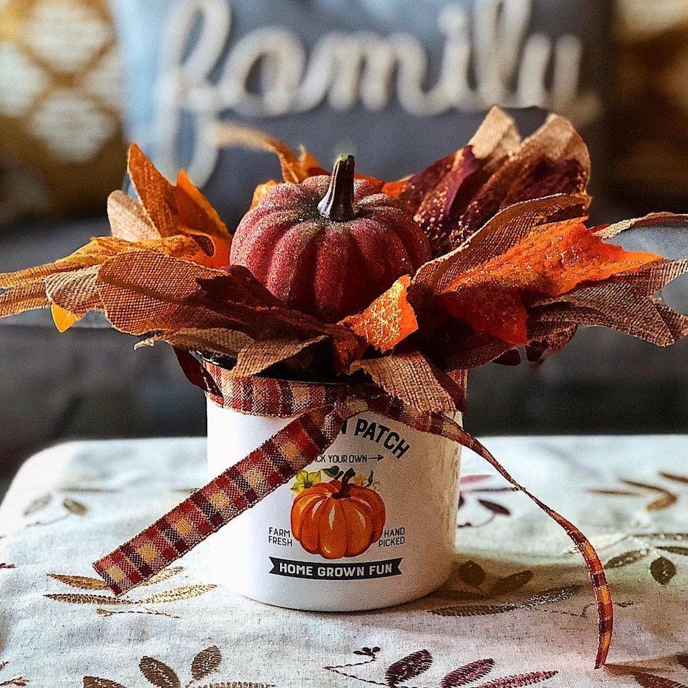 Fall Home Decor In 1 #Fall #HomeDecor #Harvest #AutumnDecor #Pumpkins