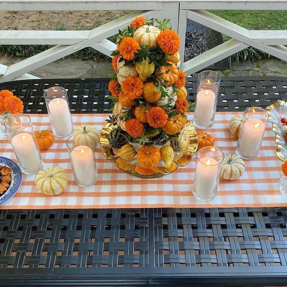 In 15 2 #Fall #Tablescapes #FallDecor #HomeDecor #AutumnDecor