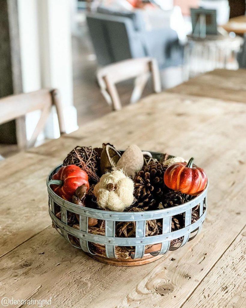 DIY fall centerpiece ideas In 17 #Fall #FallCenterpiece #FallDecor #Autumn #FallTable #HomeDecor
