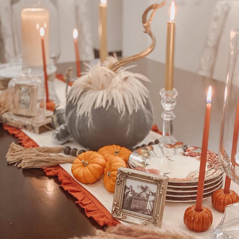 Fall Tablescape Styling Ideas In 18 1 #Fall #Tablescapes #FallDecor #HomeDecor #AutumnDecor