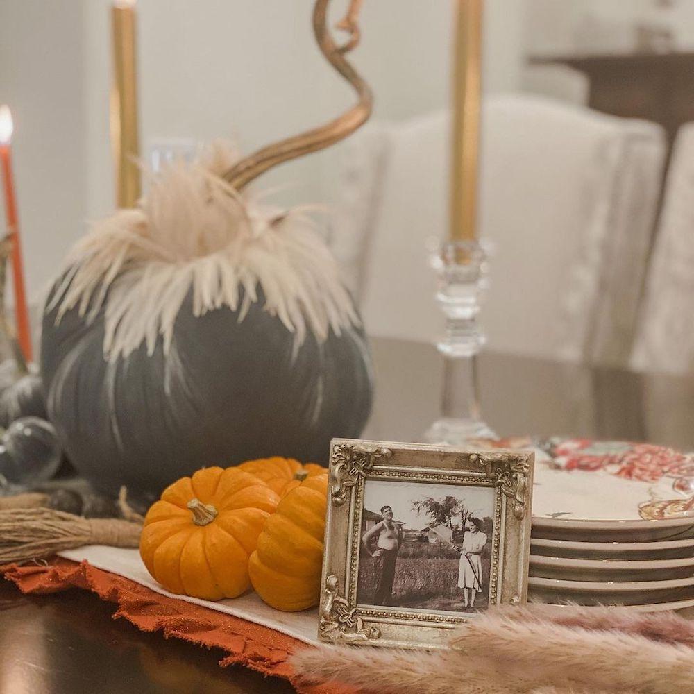 In 18 2 #Fall #Tablescapes #FallDecor #HomeDecor #AutumnDecor