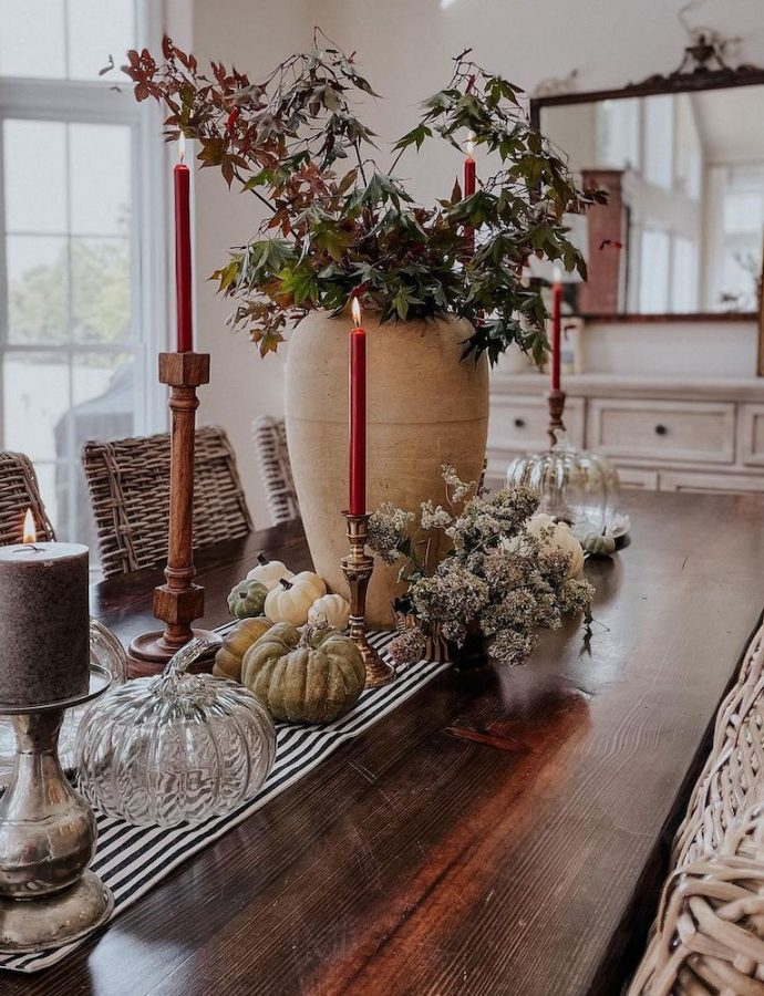 24 Most Inspiring Fall Tablescape Styling Ideas for Today's Homes