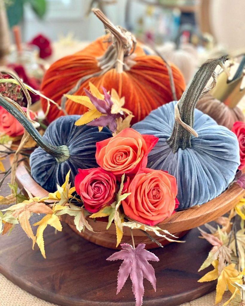 DIY fall centerpiece ideas In 28 #Fall #FallCenterpiece #FallDecor #Autumn #FallTable #HomeDecor