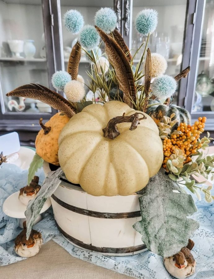 Best DIY Fall Centerpiece Ideas to Decorate for the Fall