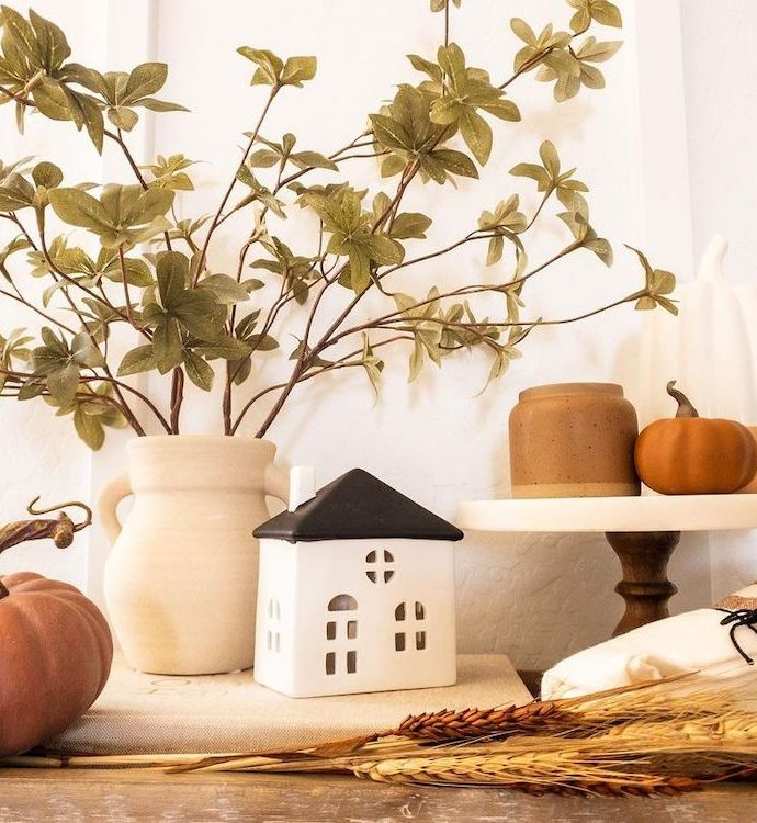 23 Most Inspiring Fall Vignette Styling Ideas to Style This Season