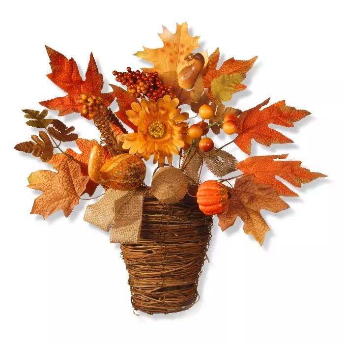 Maple Leaf Wall Basket Target