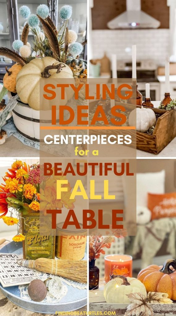 STYLING Ideas Centerpieces for a Beautiful Fall Table #Fall #FallCenterpiece #FallDecor #Autumn #FallTable #HomeDecor