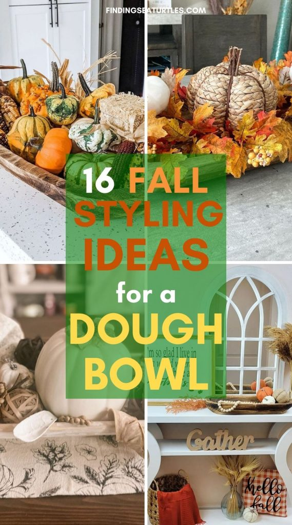 16 Fall Styling Ideas for a Dough Bowl