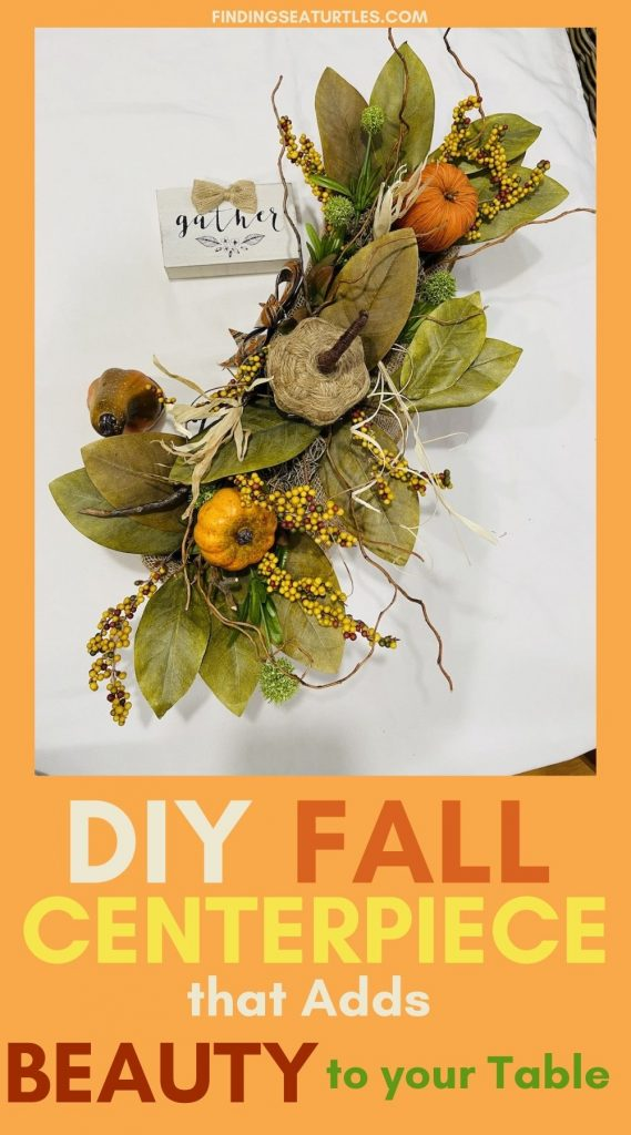 DIY FALL Centerpiece that Adds Beauty to your Table #DIY #Fall #FallCenterpiece #HomeDecor #TableStyling #Autumn