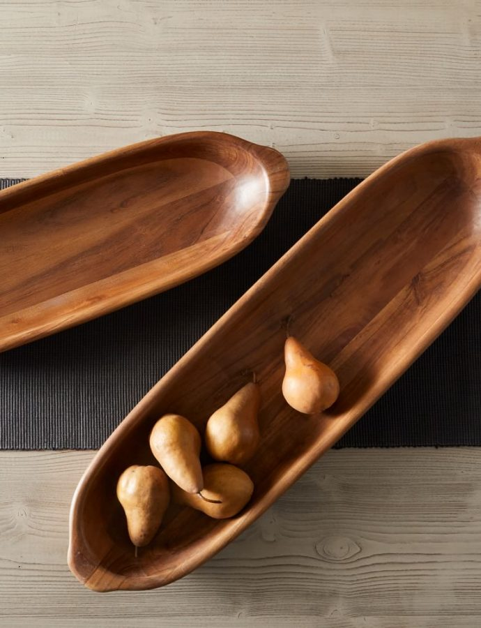 Wooden Dough Bowls to Style a Fall Centerpiece Now