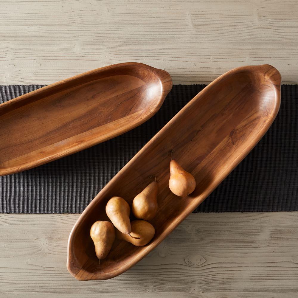 Eden Dough Bowl Double set #Fall #HomeDecor #WoodenDoughBowls #DoughBowls #FallCenterpiece #AutumnDecor