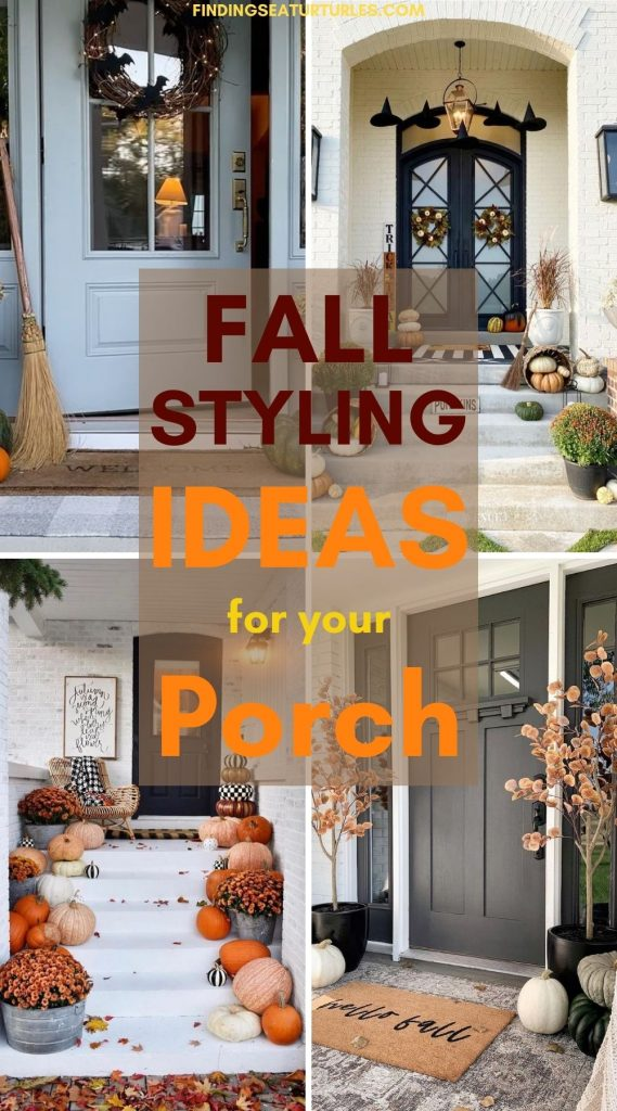 FALL Styling Ideas for your Porch #Fall #Porch #FallPorch #FallDecor #HomeDecor #AutumnDecor