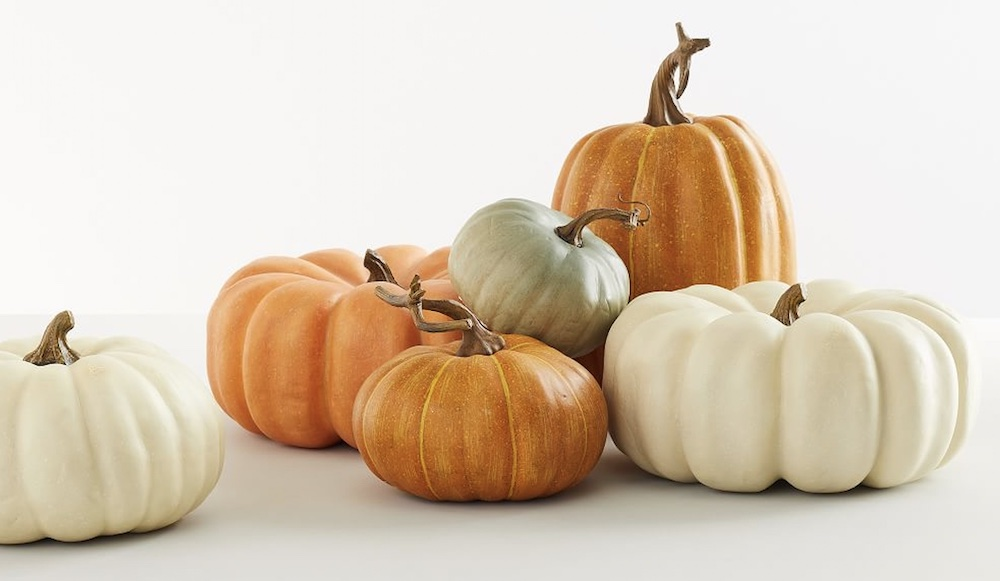 Faux Pumpkins 1 #Fall #Tablescapes #FallDecor #HomeDecor #AutumnDecor