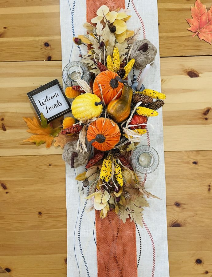 DIY Fall Tablescape that Adds Beauty to the Fall Table