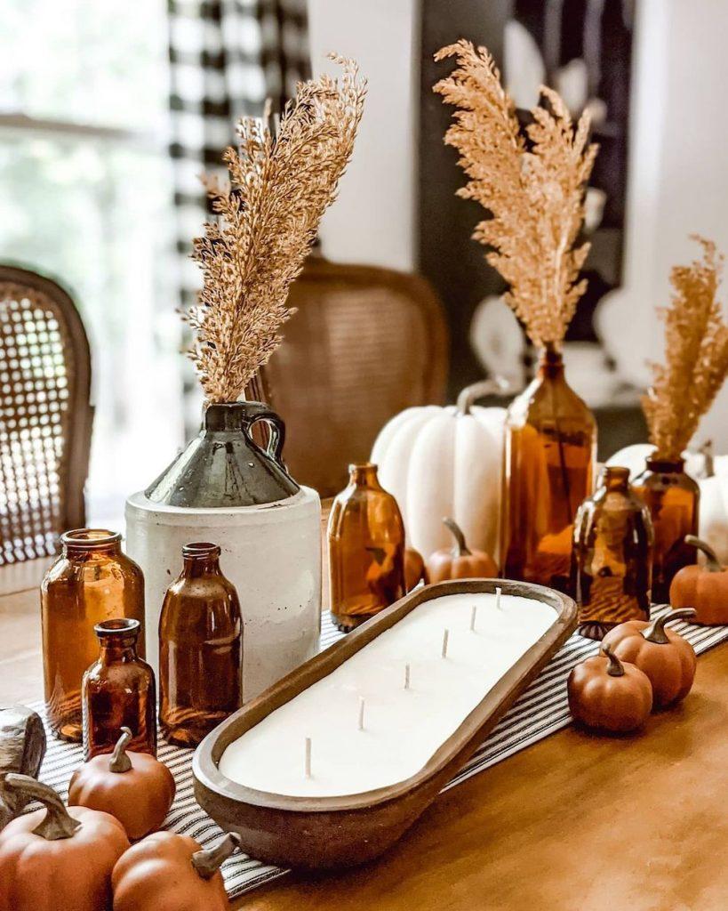 Fall Tablescape Styling Ideas In 1 #Fall #Tablescapes #FallDecor #HomeDecor #AutumnDecor