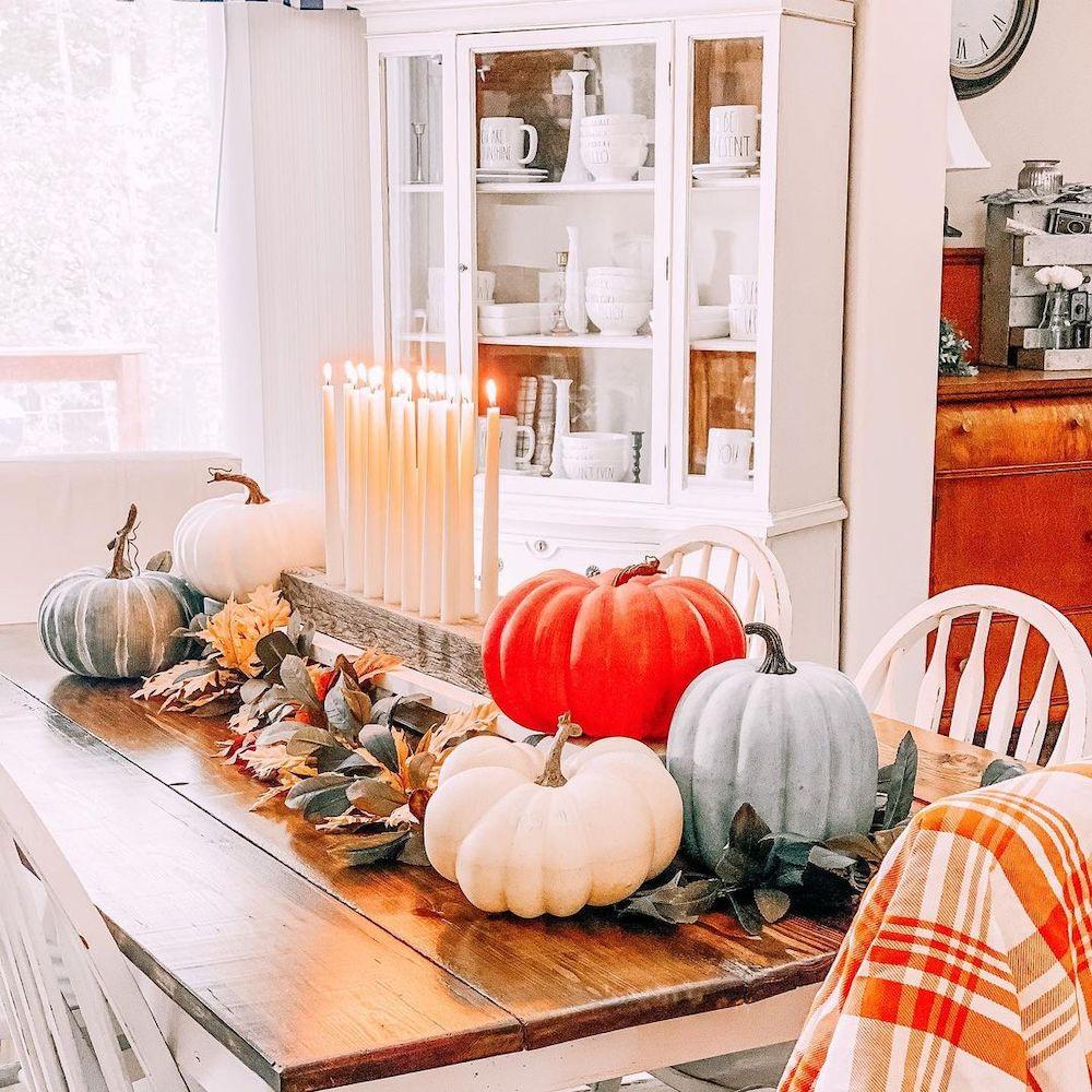 Fall Tablescape Styling Ideas In 10 1 #Fall #Tablescapes #FallDecor #HomeDecor #AutumnDecor
