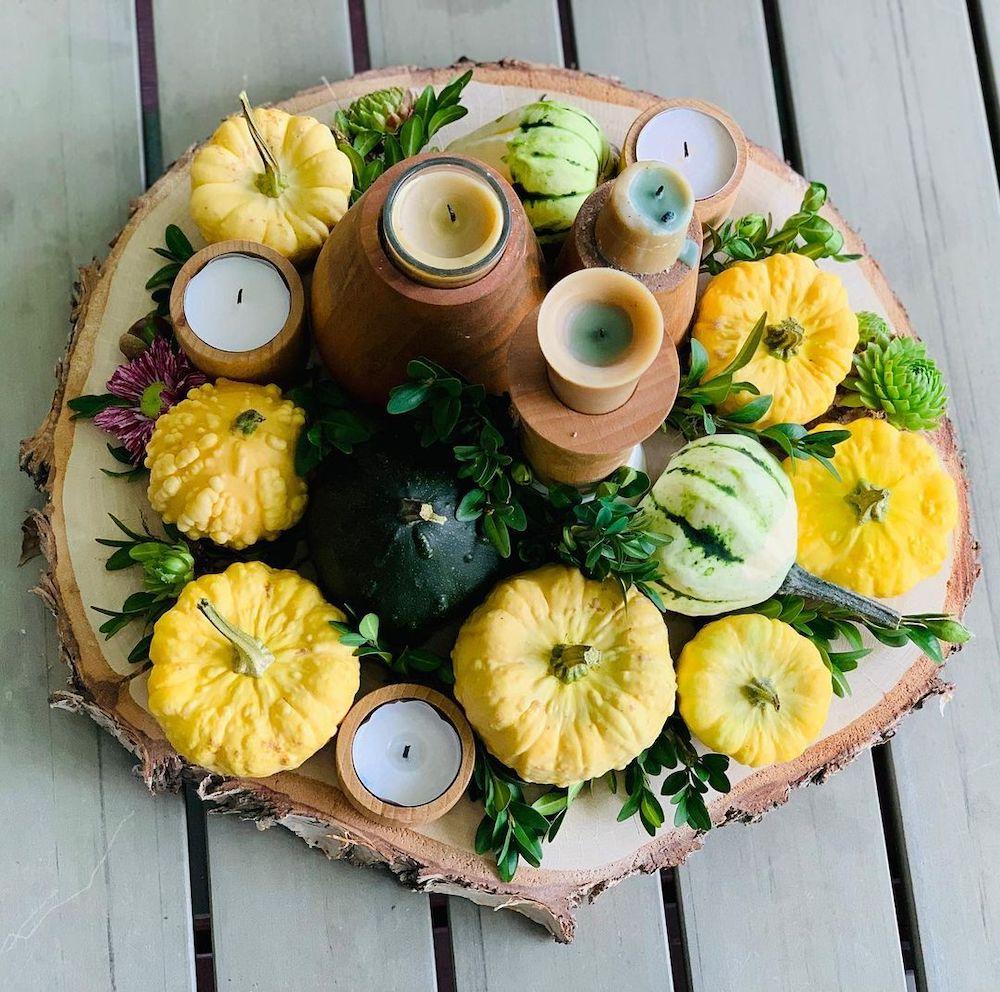 DIY fall centerpiece ideas In 10 1 #Fall #FallCenterpiece #FallDecor #Autumn #FallTable #HomeDecor