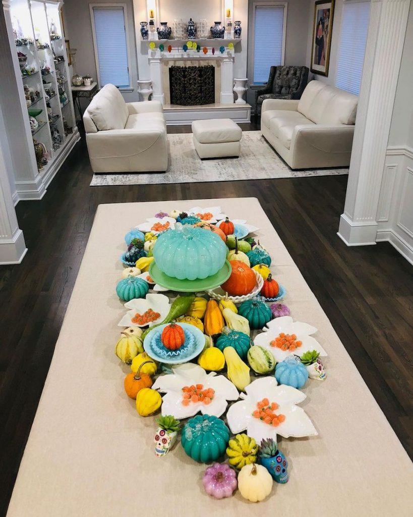 Fall Tablescape Styling Ideas In 12 #Fall #Tablescapes #FallDecor #HomeDecor #AutumnDecor
