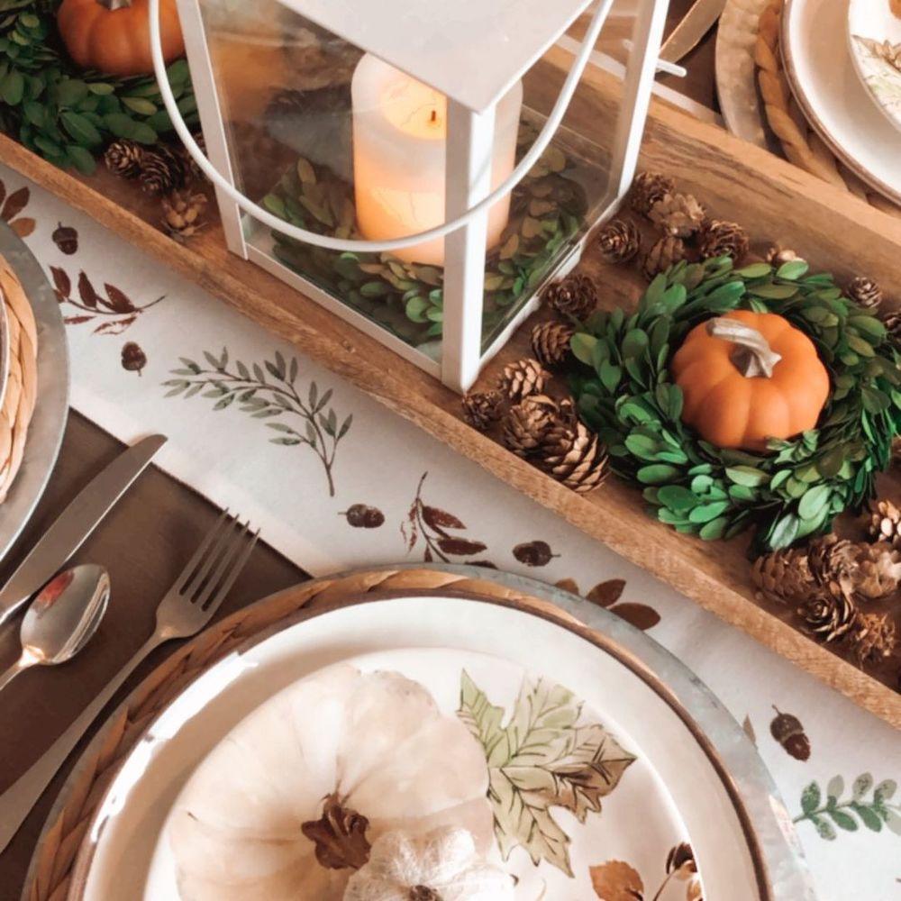 In 13 #Fall #Tablescapes #FallDecor #HomeDecor #AutumnDecor