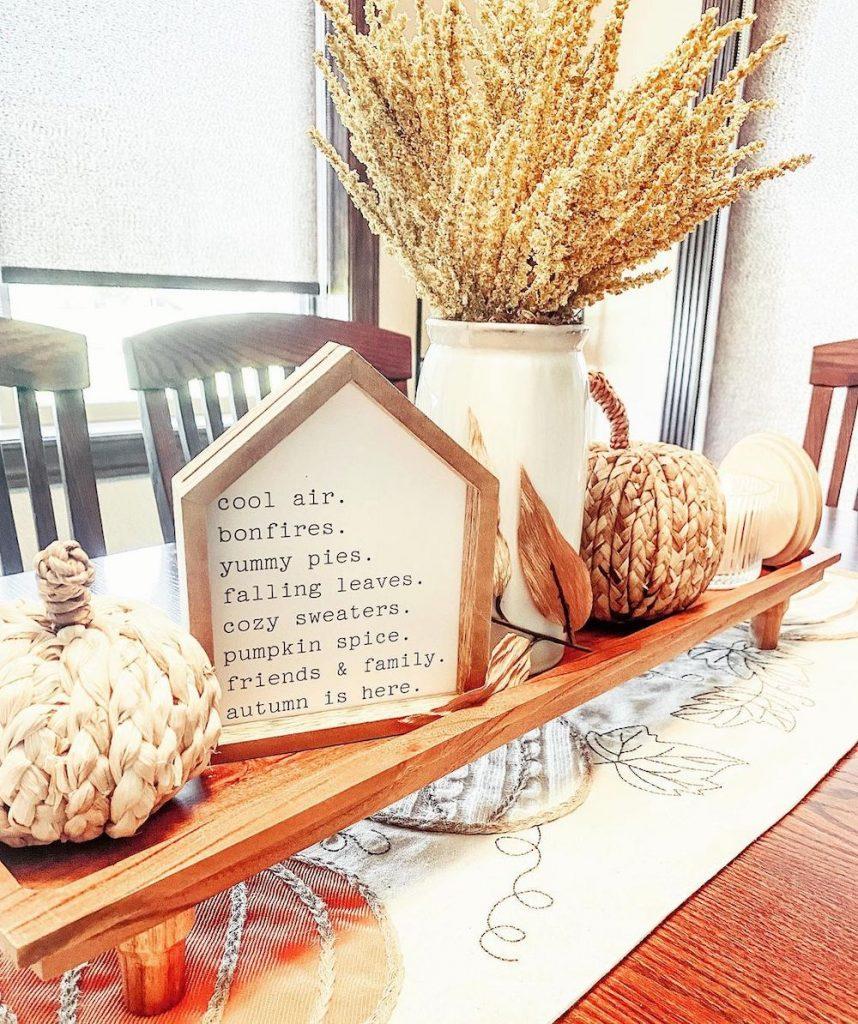 Fall Tablescape Styling Ideas In 3 #Fall #Tablescapes #FallDecor #HomeDecor #AutumnDecor