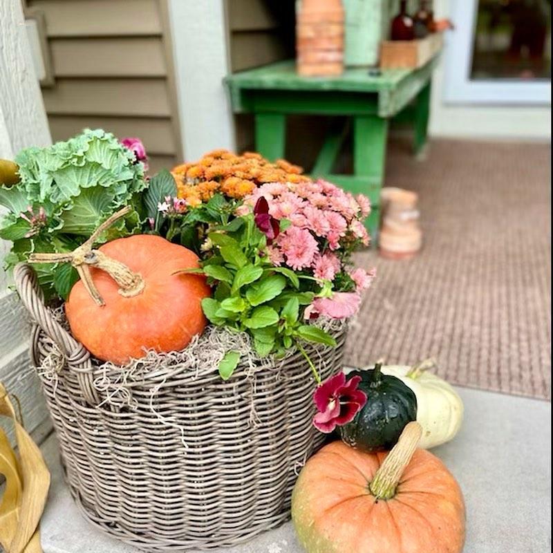 In 33 2 #Fall #Porch #FallPorch #FallDecor #HomeDecor #AutumnDecor