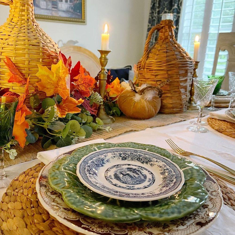 Fall Tablescape Styling Ideas In 5 1 #Fall #Tablescapes #FallDecor #HomeDecor #AutumnDecor