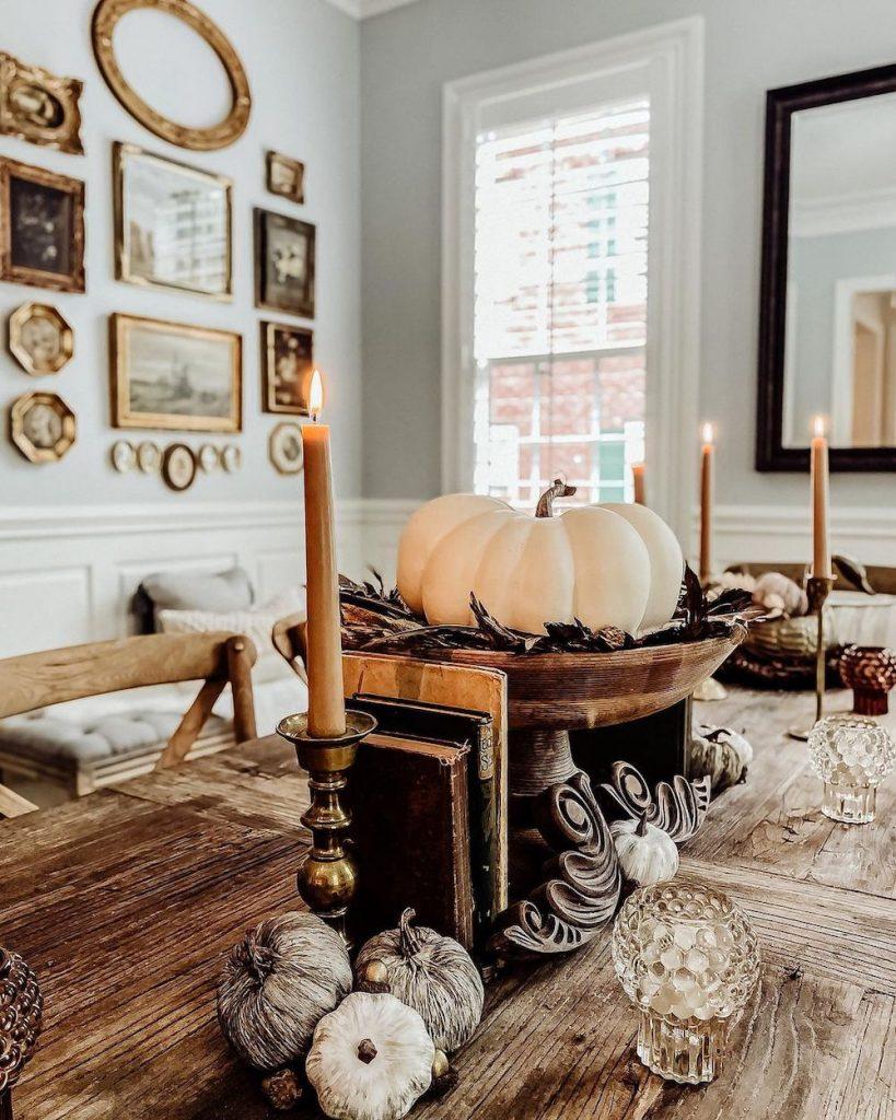Fall Tablescape Styling Ideas In 7 #Fall #Tablescapes #FallDecor #HomeDecor #AutumnDecor