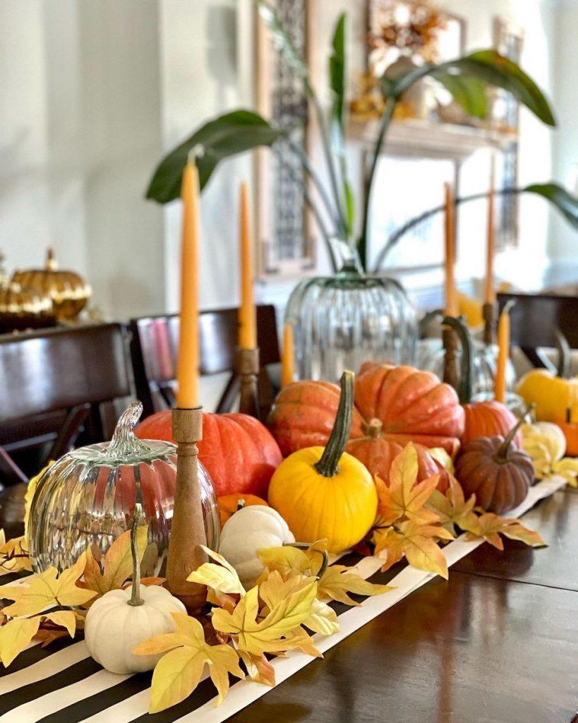 Fall Tablescape Styling Ideas In 9 1 #Fall #Tablescapes #FallDecor #HomeDecor #AutumnDecor