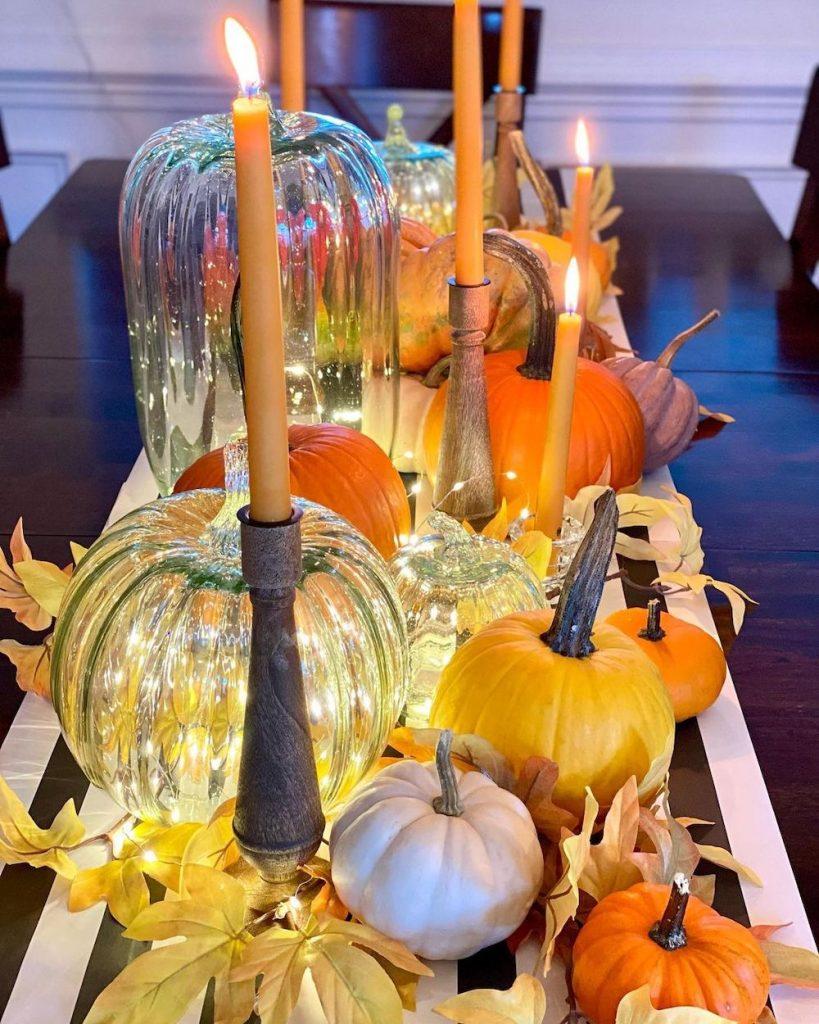 Fall Tablescape Styling Ideas In 9 2 #Fall #Tablescapes #FallDecor #HomeDecor #AutumnDecor