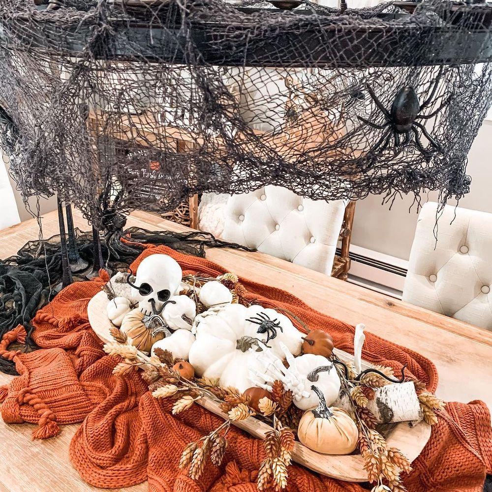 Decorative Wood Weston Dough Bowl In 9 #Fall #HomeDecor #WoodenDoughBowls #DoughBowls #FallCenterpiece #AutumnDecor